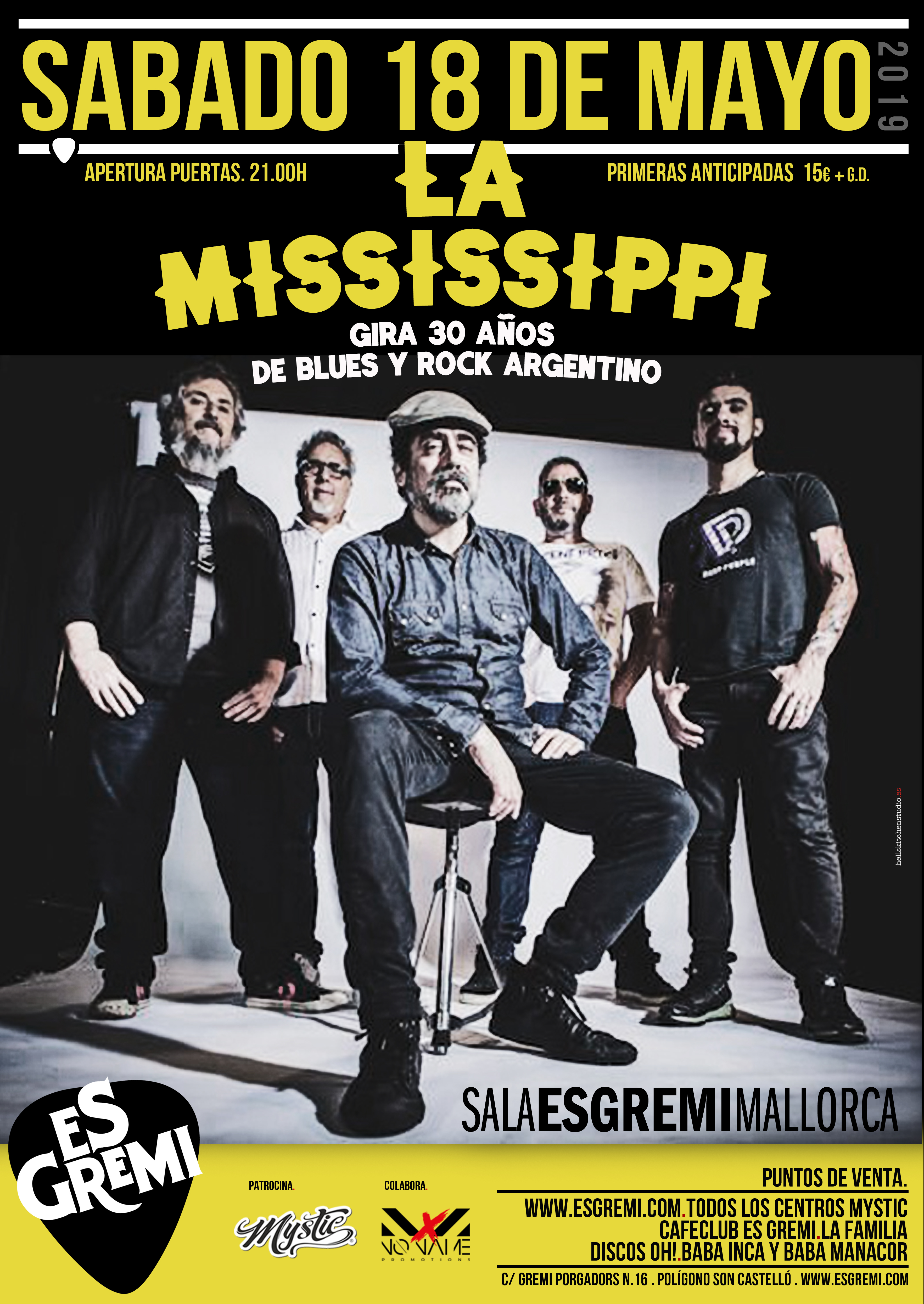 La Mississippi blues band en Mallorca